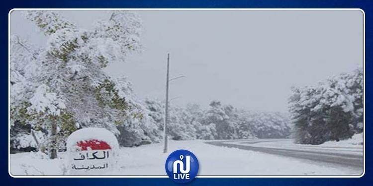 الكاف: انقطاع التيار الكهربائي بعدّة مناطق بسبب الثلوج