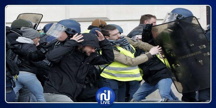 الشرطة الفرنسية تعتقل أكثر من 50 شخصا