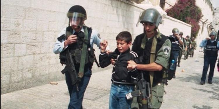 اعتقال 562 طفلًا فلسطينيًا منذ اعلان ترامب القدس عاصمة لإسرائيل