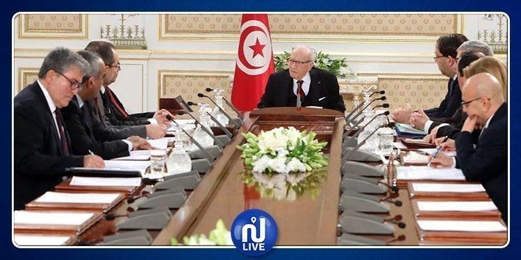 Réunion exceptionnelle du Conseil de sécurité nationale