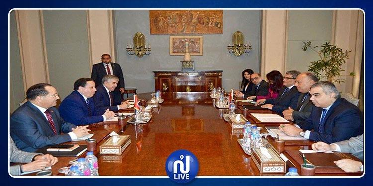 مواصلة العمل لتطوير العلاقات التونسية المصرية والإرتقاء بها
