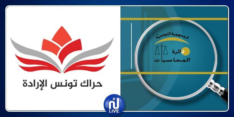 حراك تونس الإرادة: التقارير المالية مودعة لدى دائرة المحاسبات