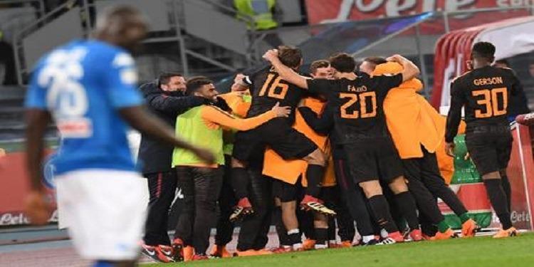البطولة الإيطالية: هزيمة مفاجئة لنابولي برباعية ضد روما