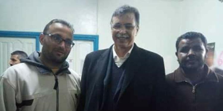 سيدي بوزيد: بوعلي المباركي يتدخل لتعليق إعتصام 'قائمة 64' (صور)