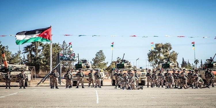 القوات المسلحة الأردنية  تحبط مخططا إرهابيا (صور)