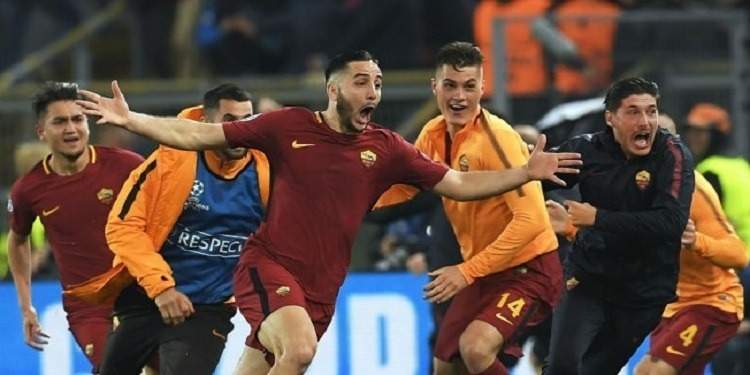 دوري أبطال أوروبا: لاعبو روما يسيطرون على التشكيلة المثالية لإياب ربع النهائي