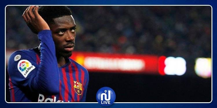 Barcelone: Dembélé aggrave sa blessure, 3 à 4 semaines d'absence