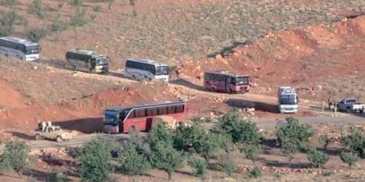قوات التحالف تمنع قافلة ''داعش'' من التوجه نحو حدود العراق