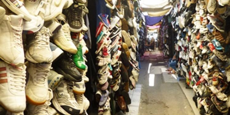 مكثر : حجز أحذية مسروقة بقيمة 12000 دينار