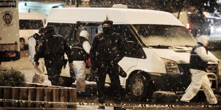 تركيا: إصابة شرطي بطلق ناري وسط إسطنبول