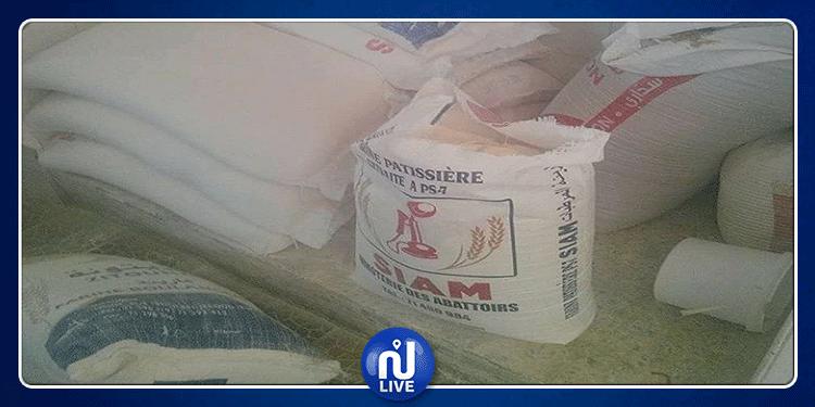 حي التضامن: حجز 11.5 طنا من مادة ''الفرينة'' المدعّمة