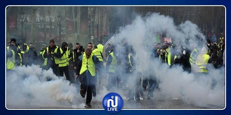 فرنسا: المحتجون يستهدفون القصر الرئاسي والأمن يرد بالغاز (فيديو)