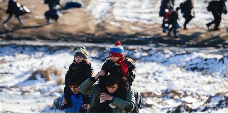 سوريون يتجمدون حتى الموت على حدود لبنان