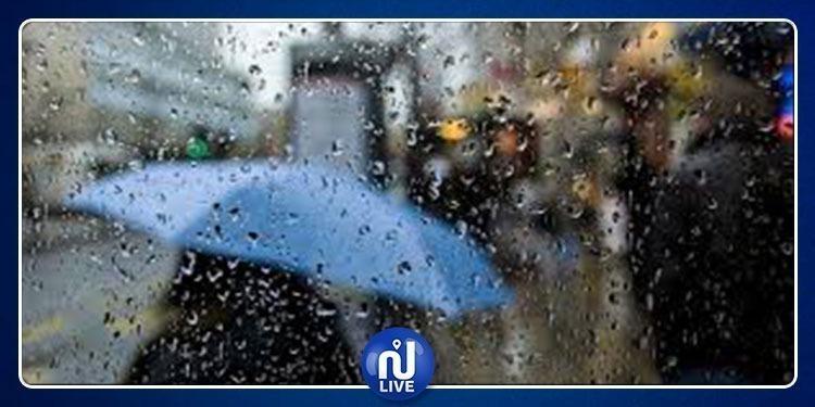 كميات الأمطار المسجلة بمناطق مختلفة من البلاد