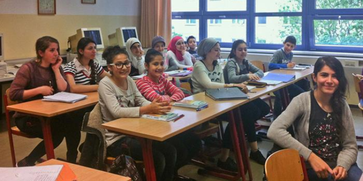 التعليم ودمج اللاجئين في ألمانيا