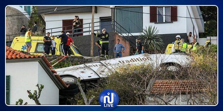 Portugal : un accident de bus fait au moins 28 morts