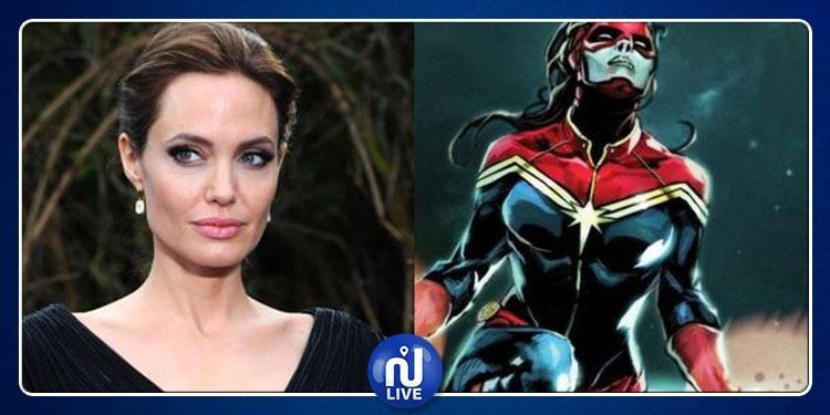 Angelina Jolie, prête à rejoindre l'univers Marvel