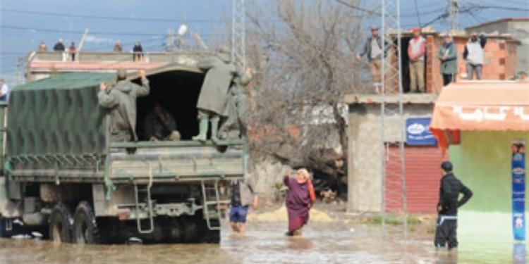 Inondations au Cap Bon: L'armée à la rescousse