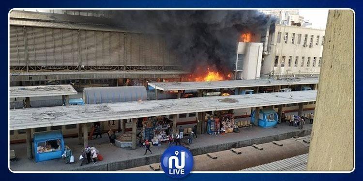 حادثة مصر والاعترافات...'القطار تحرك دون سائق' (صور)