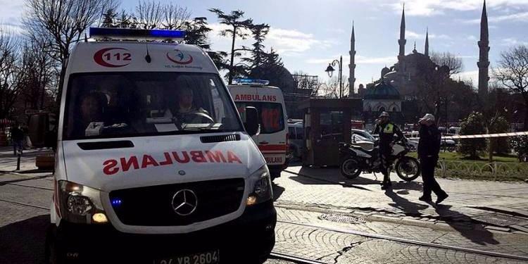 تركيا : انفجار قنبلة في اسطنبول يخلّف عديد الإصابات
