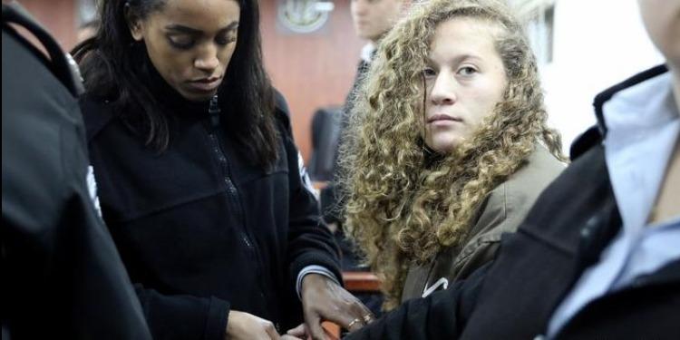 المحكمة العسكرية الإسرائيلية تقرر جعل محاكمة عهد التميمي مغلقة