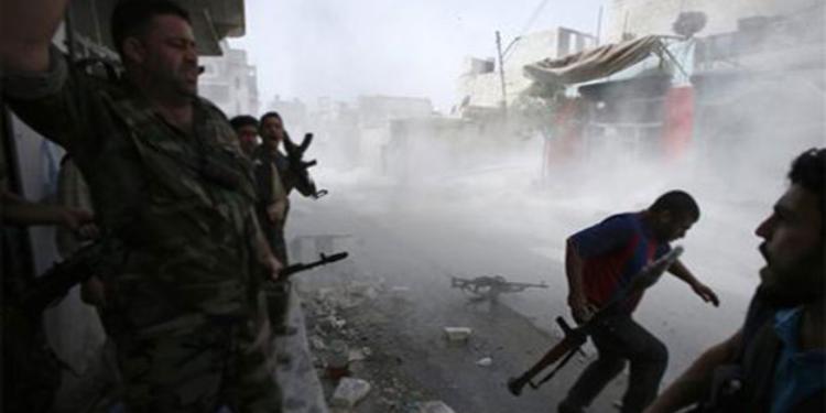 سوريا : 5 قتلى من القوات الموالية للنظام في غارة إسرائيلية