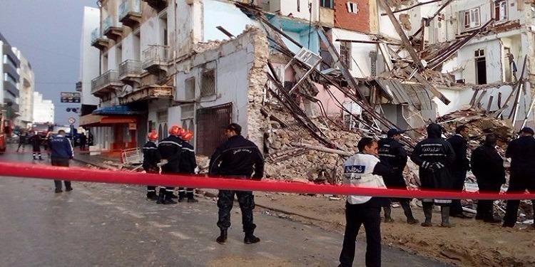 سوسة: توجيه تهم القتل والجرح على وجه الخطأ للمتهمين في حادثة انهيار العمارة