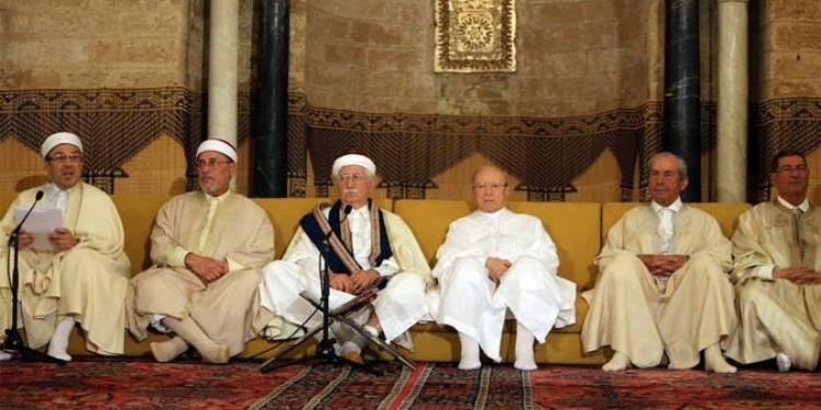 رئيس الجمهورية يشرف على موكب ختم القرآن الكريم  بجامع الزيتونة المعمور