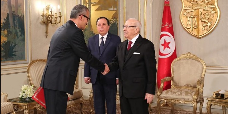 رئيس الجمهورية يسلم أوراق إعتماد سفيرين جديدين لتونس