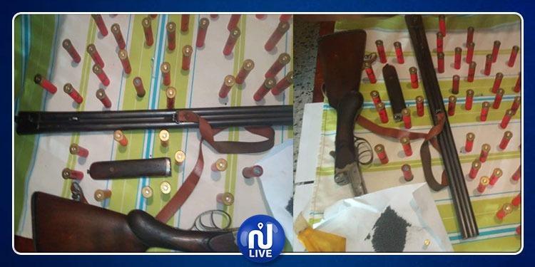جندوبة: حجز بندقية صيد وخراطيش وكمية من البارود والاحتفاظ بصاحبها