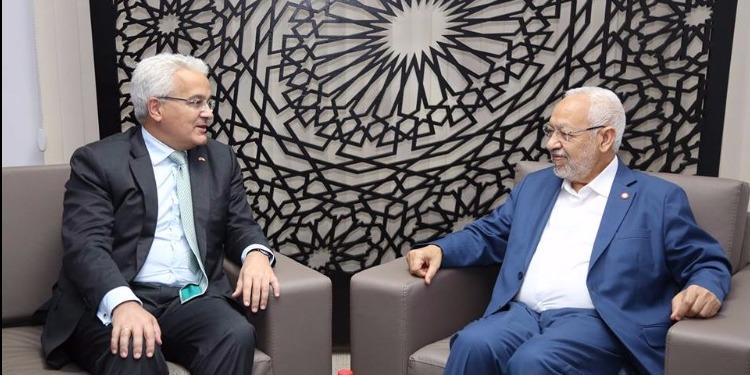 راشد الغنوشي يستقبل كاتب الدولة الإسباني للعلاقات الخارجية