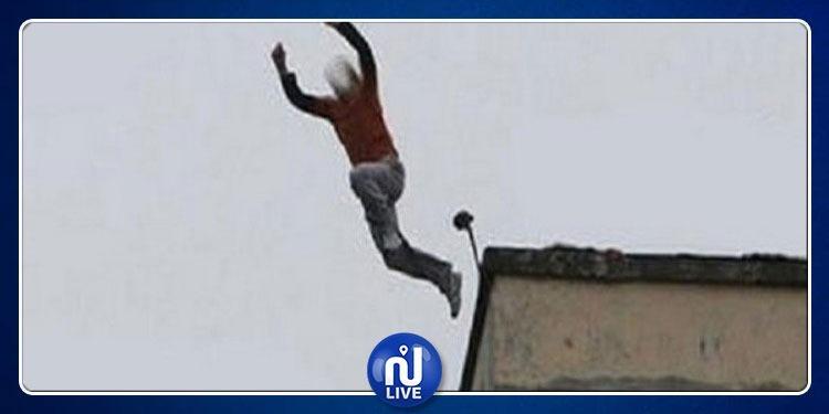 بوسالم: شاب يلقي بنفسه من بناية إثر مطاردته من أحد عناصر الأمن