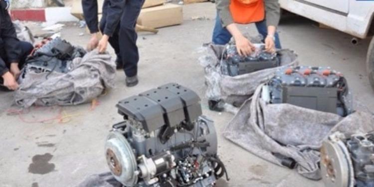 القيروان:حجز 14 محرك سيارات مهرّبة