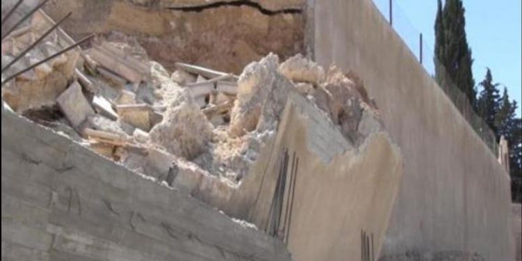 نابل- الهوارية: إصابة تلميذ في إنهيار سياج مدرسة