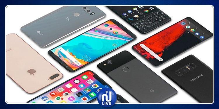 La vente des smartphones en baisse en 2018…