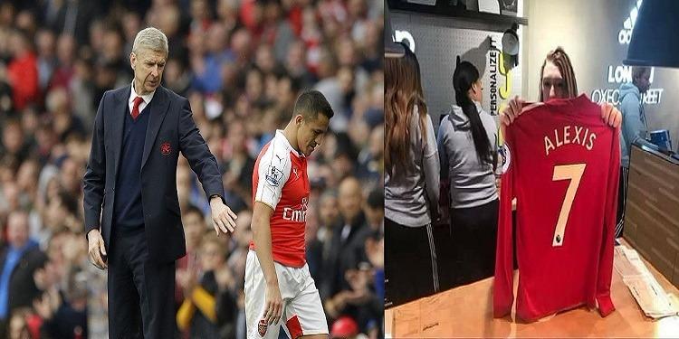 آرسين فينغر يعلن رحيل ألكسيس سانشيز رسميا إلى مانشستر يونايتد