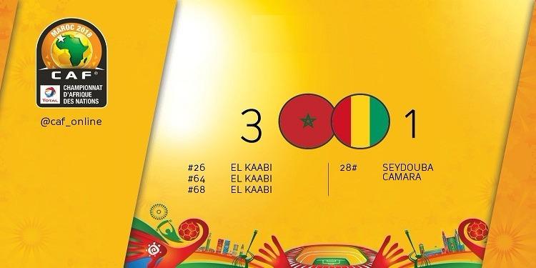شان المغرب 2018: المنتخب المغربي يواصل المشوار وينتصر على غينيا