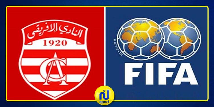 الفيفا تسحب 6 نقاط من رصيد النادي الافريقي