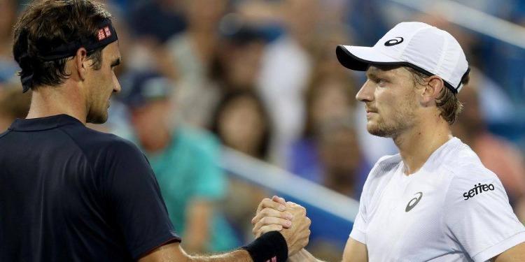 Cincinnati: Federer en finale après l'abandon de Goffin