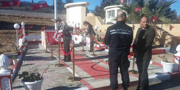 القصرين : تظاهرة لإحياء ذكرى استشهاد أعوان الحرس الوطني