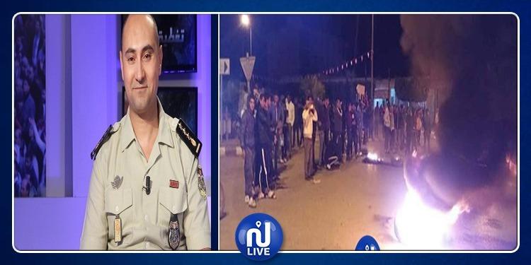 حسام الجبابلي: ''الاحتجاجات الليلية ليست سلمية وهي مدفوعة الأجر''