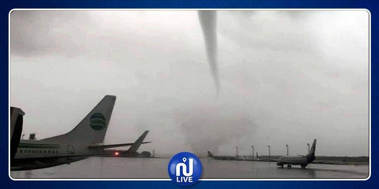 Turquie: L'aéroport d'Antalya frappé par une forte tornade (vidéo)