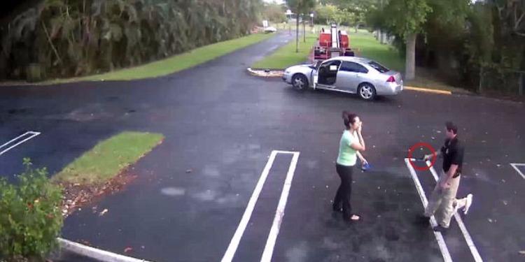 شرطي أمريكي يطلق النار على حبيبته السابقة وينتحر (فيديو)
