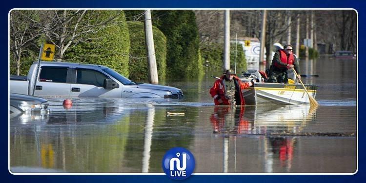 Le Canada frappé par des inondations