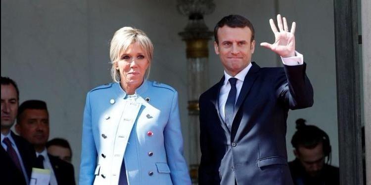 الرئيس الفرنسي إيمانويل ماكرون في المدينة العتيقة بالعاصمة (فيديو)