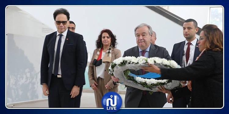 الأمين العام للأمم المتحدة في متحف باردو (صور)