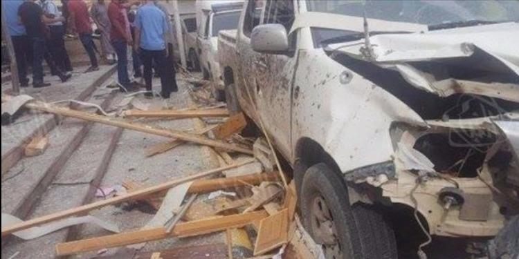 ليبيا: تفجير مجمع محاكم مصراتة أثناء مٌحاكمة لعناصر داعش الإرهابي