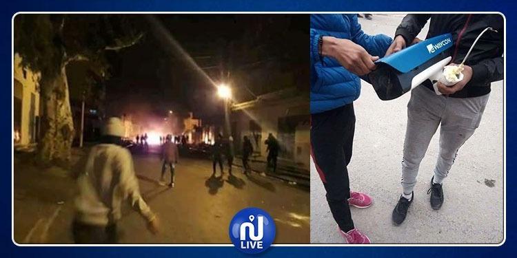 القصرين: تواصل الاحتجاجات بحي الزهور وتكسير كاميرات المراقبة