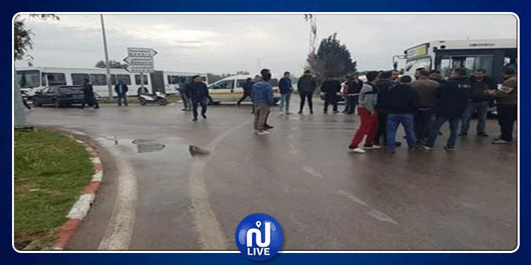 المنستير : شلل في حركة المرور في المكنين وسيدي بنور