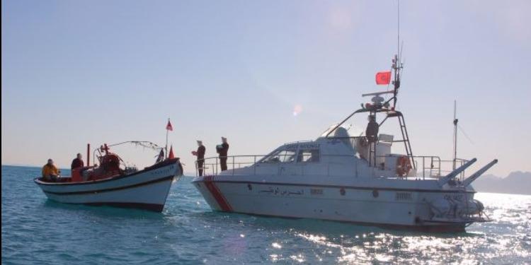 المهدية: إحباط عملية إجتياز الحدود البحرية خلسة وإيقاف 4 أشخاص